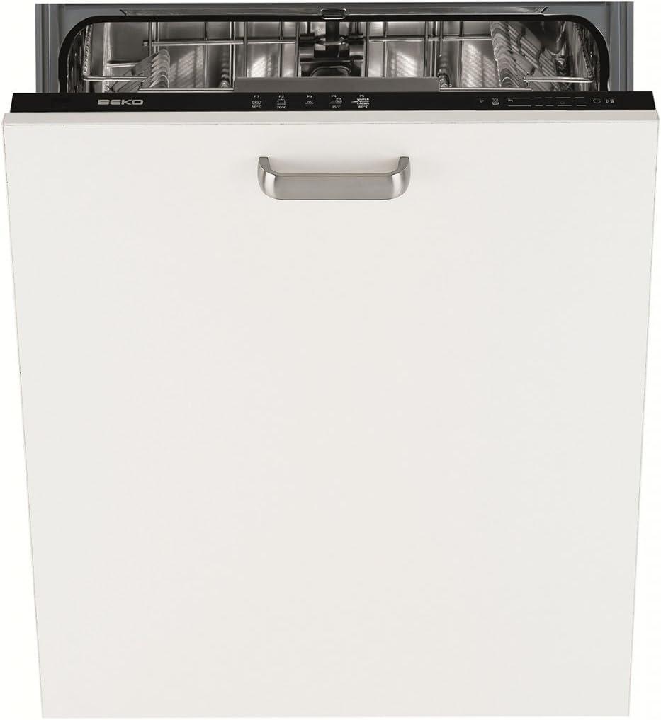 Beko DIN16210 Totalmente integrado 12cubiertos A+ lavavajilla ...