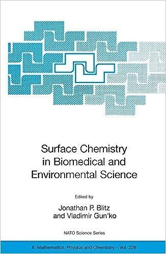Surface Chemistry in Biomedical and Environmental Science (Nato Science Series II:) by Vladimir M. Gun'ko, Jonathan P. Blitz (2008-02-26)