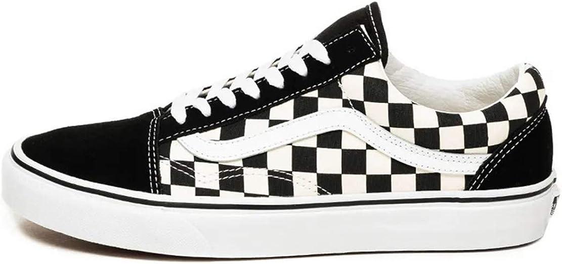 Vans Old Skool Primary Check Low Shoe