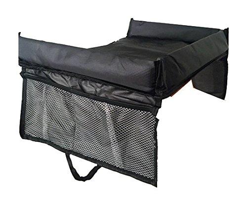 Mesa portátil impermeable para niños que viajan en coche, bandeja para comer y jugar KEMAI