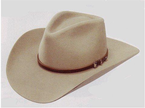 Stetson Men s 4X Buffalo Felt Seneca Pinch Front Western Hat - Import ... 2b52c266a3a