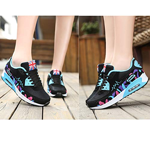 Casual Running 956 66 Fashion Women's blue No Town Air Shoes Walking Sneaker T7Ix4Z