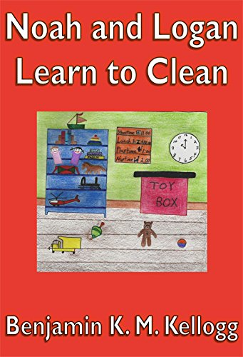 Noah and Logan Learn to Clean: An illustrated children's book - Popular Autism Related Book