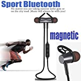 Best Microphone For Alcatels - Bluetooth Headphones, Wireless Sport Bluetooth Earphone 4.1 Magnetic Review