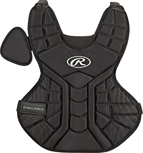 Rawlings Sporting Goods Youth Catchers Players Series Chest Protector, Black