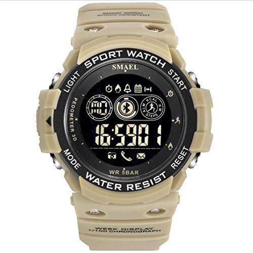 SMAEL Men's Watch Bluetooth Smart Watch Step Counter Reminder,A3
