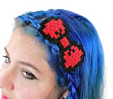 Dancing Participle Women's 8-bit Hair Bow Red