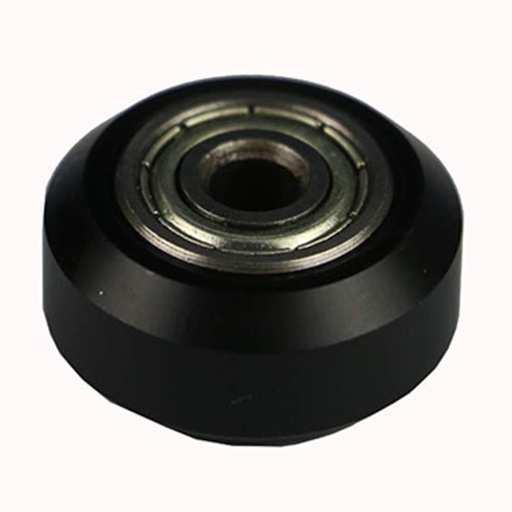Roulement facile /à installer avec groove profonde pour imprimante 3D Haute pr/écision Remplacement Accessoires Taille int/érieure Caoutchouc Acier carbone Roue Synchrone Faible bruit
