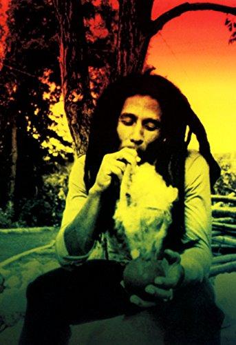 Bob Marley Poster, Rasta, Smoking Weed, Reggae Music Legend (Best Music For Smoking Weed)