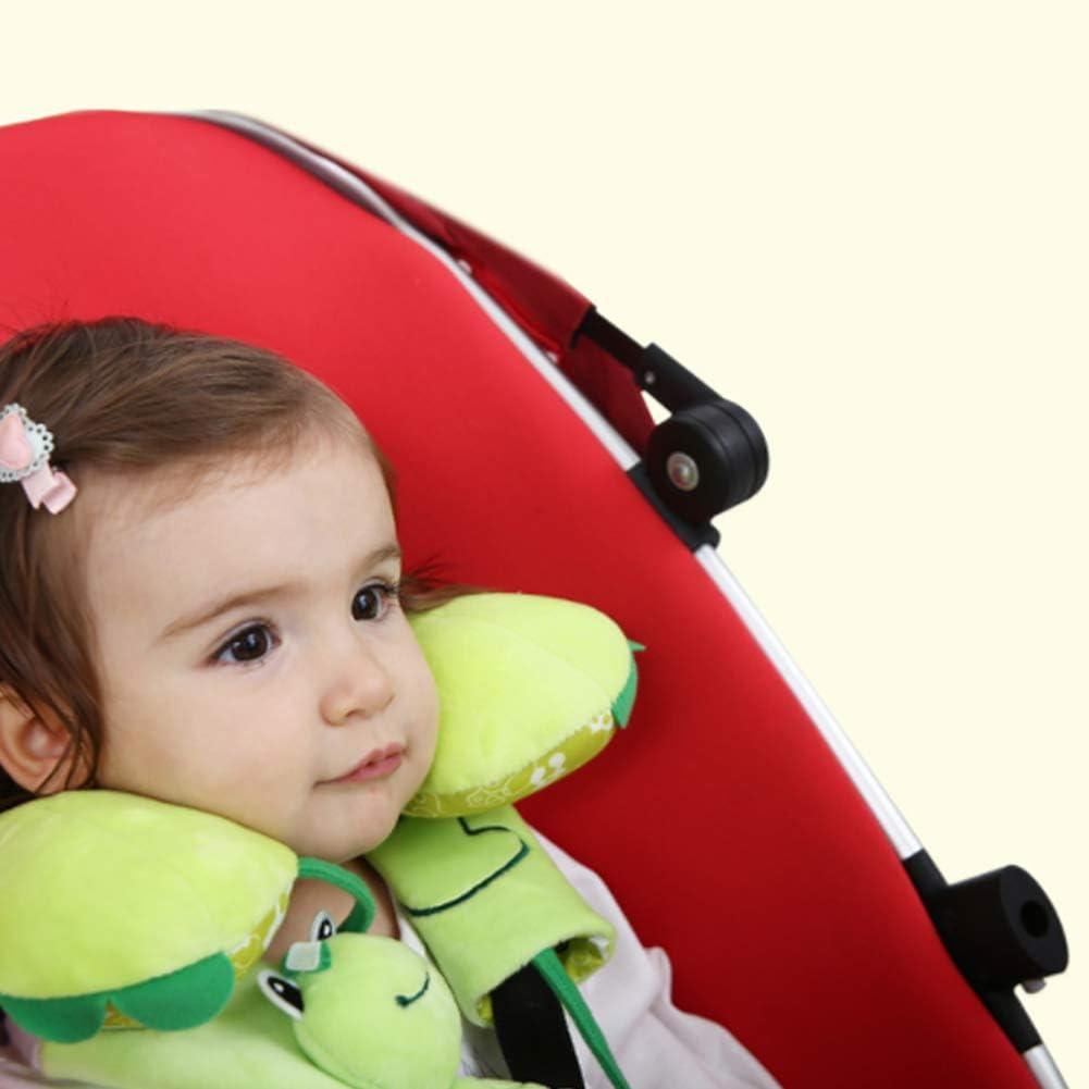 newin Star ceinture pour enfants Ceinture de protection pour enfants Ceinture pour Poster pour si/ège auto et poussette pour prot/éger les enfants Shoulder 16cm Green Frog 16 1/Set
