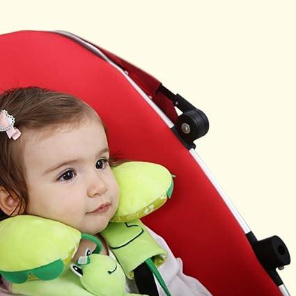 Newin Star Kindergürtel Schutzgürtel Für Kindersitze Und Kinderwagen Zum Schutz Der Kinder Shoulder 1 Set 16 16cm Green Frog Baby
