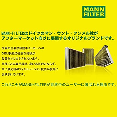 MANN-FILTER HU 7025 Z Oil Filter - Cartridge: Automotive