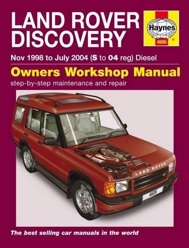 Land Rover Discovery Diesel Nov 98 - Jul 04 Haynes Repair Manual Service & Repair Manuals: Amazon.es: Haynes Publishing: Libros en idiomas extranjeros
