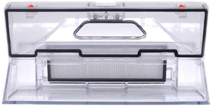FairytaleMM Dust Box Hepa Filter Piezas de Repuesto para Xiaomi Mi Robot Aspiradora Caja de Basura con Filtro Hepa: Amazon.es: Hogar