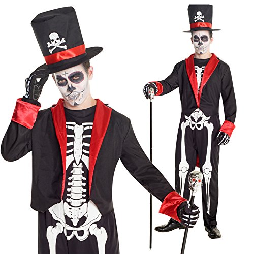 7c78d43125a We Analyzed 937 Reviews To Find THE BEST Day Of The Dead Costume Men
