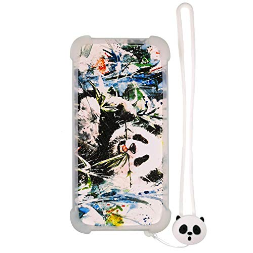Case for Soho Style Ssb504a SSB 504a Case Silicone Border + PC Hard backplane Stand Cover Luminous Effect XM