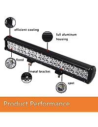 Barra de luz LED de 126 W
