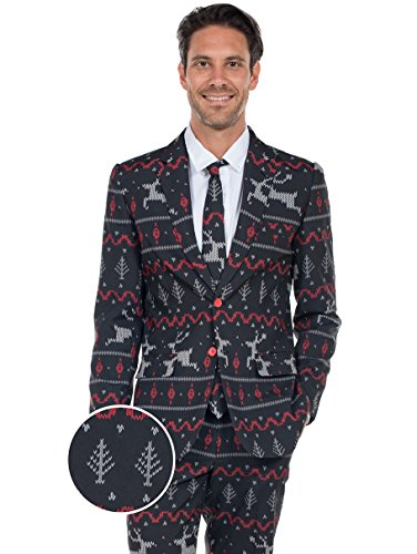 Tipsy Elves The Rage Deer Christmas Suit - Ugly Christmas, used for sale  Delivered anywhere in USA