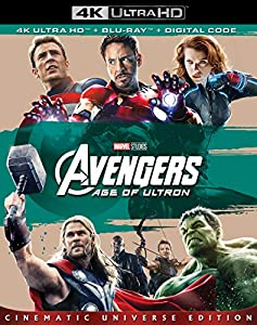 Cover Image for 'Avengers: Age of Ultron [4K Ultra HD + Blu-ray + Digital]'