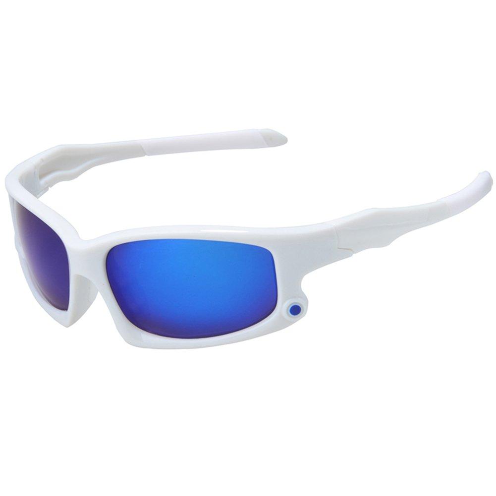 LanLan Lunettes vélo, lunettes de soleil, cyclisme Lunettes Polarisées 9Couche de revêtement lunettes de soleil MTB vélo Eyewear anti-UV Protection de Cyclisme pour Homme, Black Frame, rouge