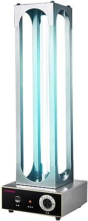La esterilización de la lámpara UV anti-bacteriana desinfectante Desinfectar luz, 360 ° No Muertos Hogar ángulo, Portátil Anti-Virus, 50W regular a distancia del hogar de Control: Amazon.es: Hogar