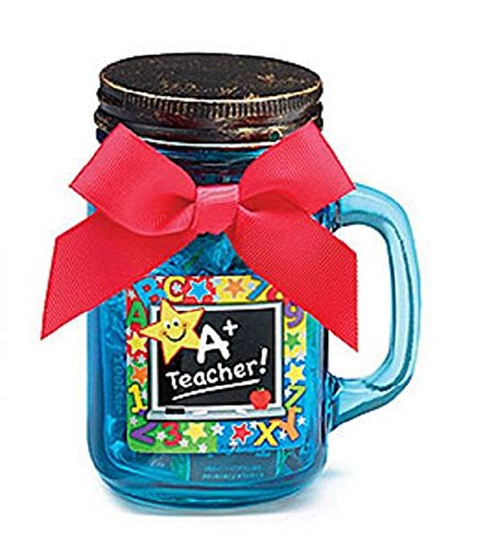 Burton & Burton 10214 A+ Teacher! Jar Candy-filled Gift