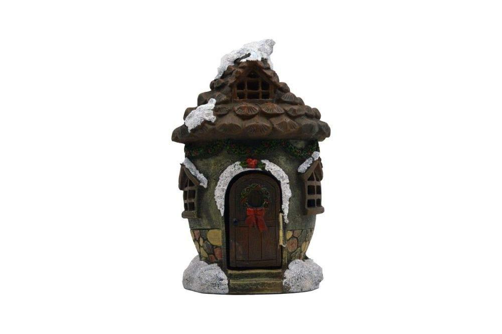 Fairy Garden Christmas Miniature - Christmas Pinecone House