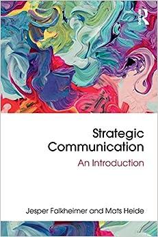 Strategic Communication por Jesper Falkheimer epub