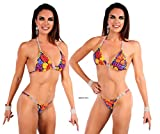 Competition Bikini Suit wtih 5 Connectors and Swarovski Imitation Crystals