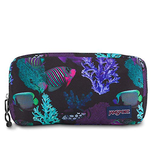 (JanSport Pixel Pouch - Tropical Fish )