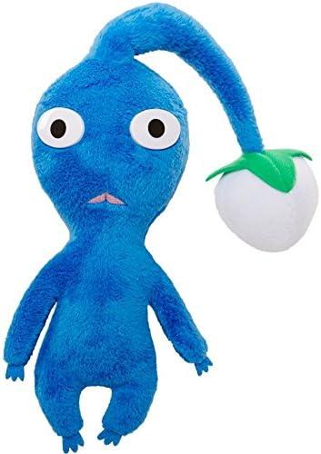 Amazon Com World Of Nintendo Mario Bros U Blue Pikmin Plush Toys