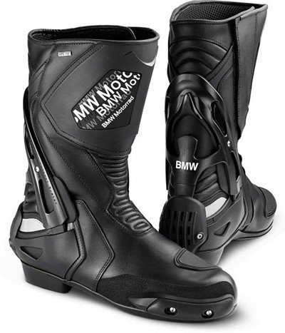 BMW Genuine Motorcycle Motorrad SportDry Boot - Color: Black - Size: EU 42 US L11 / M8