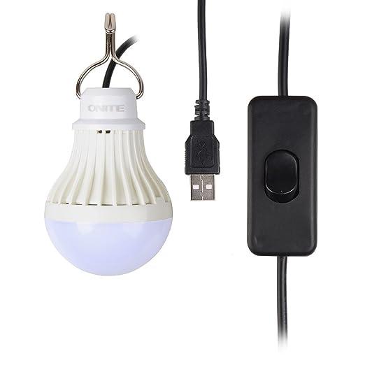 114 opinioni per Onite® luce illuminazione chiara del USB LED per il campeggio, i bambini, USB