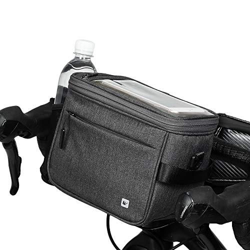 Rhinowalk Bike Handlebar Bag,Bike Front Bag Road Bike Bag Bike Frame Bag Bike Basket Bag Bicycle Bag Professional Cycling Accessories