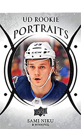 Amazon.com: 2018-19 Upper Deck Hockey UD Rookie Portraits