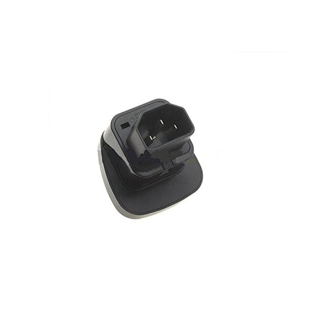 IEC C14 to Universal Female AU US UK EU C13 Safe Socket Power Adapter AC Plug (4 Pack)