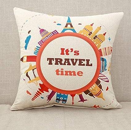 J.Lambert Custom Print Pillow Cases with Pillow Insert Linen Sofa Home Decorative  Cushion Case 95610ee28