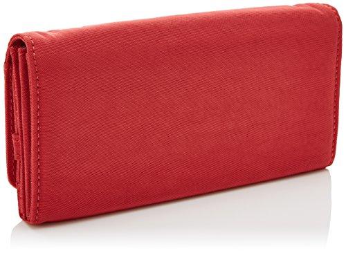 Kipling Damen Brownie Geldbörsen, 19x10x3 cm Rot (Spicy Red C)