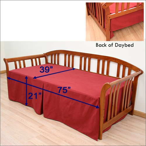 Top 10 best denim daybed cover for twin bed top product for Best twin mattress for daybed
