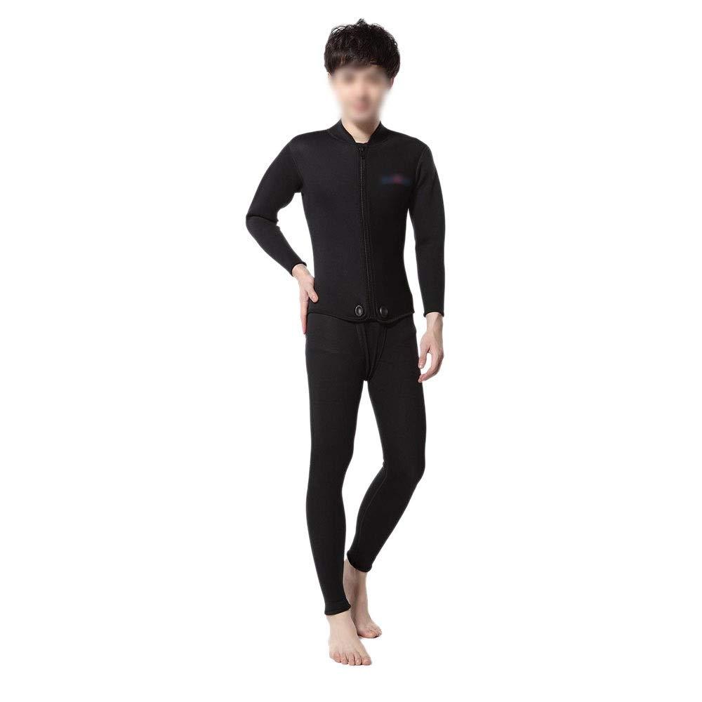 Sdhisi Iu 男性のための大人3ミリメートルウェットツーピーススーツウェットスーツシュノーケリングスーツサーフスーツ (サイズ : XL)  X-Large