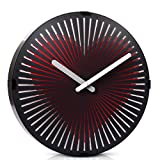 WonderZoo Smart 3D Movement Clock, Magic Dynamic Motion Wall Clock, Battery Powered, Round, Decorative Clock for Home, Bar, Shop, Office (Bumping Heart)