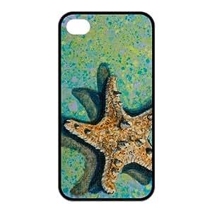 FEEL.Q- Unique Custom TPU Rubber iPhone 6 4.7 Case Cover - Sea Star