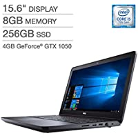 Dell Inspiron 15 5000 Series Gaming Laptop - 15 Full HD,Intel Core i5-7300HQ,8GB Memory,256GB Solid State Drive,NVIDIA GeForce GTX 1050-Black
