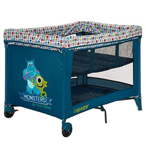 Obaby Disney Travel Cot and Bassinette (Monsters Inc) 82DB0510