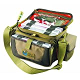Wild River by CLC WT3505 Tackle Tek Mission Lighted Convertible Tackle Bag with Four PT3500 Trays, Small