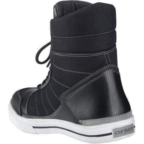 Cortech Men's Vice WP Riding Shoe(White/Black, Size 8.5), 1 Pack