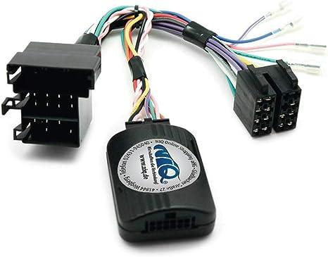Niq Can Bus Lenkradfernbedienungsadapter Geeignet Für Sony Autoradios Kompatibel Mit Fiat 500 Doblo Ducato Idea Punto