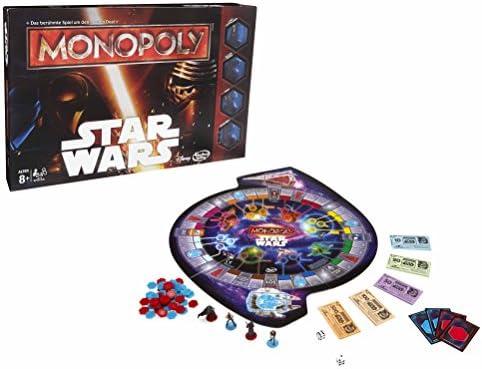 Hasbro - Monopoly Edición Star Wars (versión en alemán): Amazon.es: Juguetes y juegos