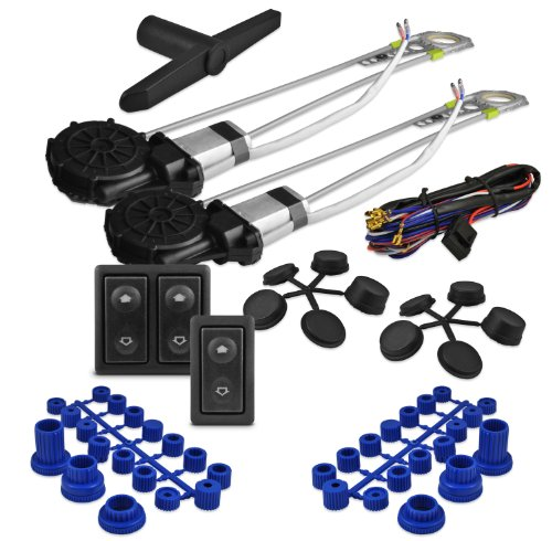 Window Kit, XO Vision 2 Door Power Window Kit (Best Power Window Kit)