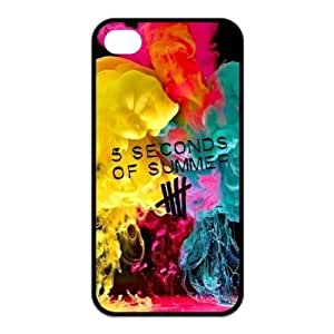 Danny Store 2015 New Arrival Protective Rubber Cover Case for iPhone 4,iPhone 4s Cases - 5sos